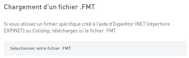 Fichier FMT